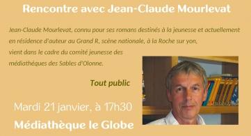 Rencontre avec Jean-Claude Mourlevat |
